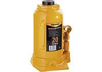 Домкрат гидравлический бутылочный, 20 т, h подъема 250-470 мм// SPARTA