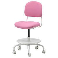 ИКЕА VIMUND, 503.315.40 Детский стул д/письменного стола, розовый