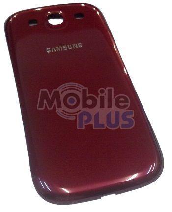 Батарейная крышка для Samsung i9300 (Red)
