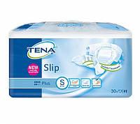 Подгузники для взрослых TENA Slip Plus Smal 30шт,.дышащ.(56-85) 6кап.