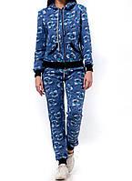 Женский спортивный костюм, 1214W-Blue