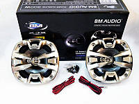 Автомобильные колонки 16 см. BOSCHMANN BM AUDIO XJ2-6788 M3 300W 3-х полосные