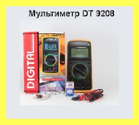 Мультиметр DT 9208 цифровой!Акция, фото 2