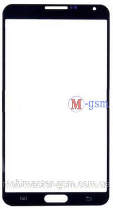 Стекло Samsung N9000 Galaxy Note 3 черное, фото 2