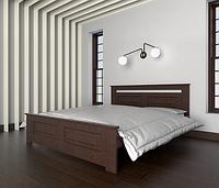 Кровать двуспальная Клеопатра из массива бука