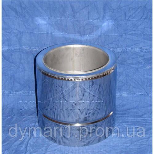 Труба для дымохода 0.25 м нерж./оц. ф150/220