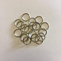 Фурнитура 1 см. металл серебро кольца