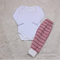 Детский трикотажный комплект боди и штаны, Sport baby