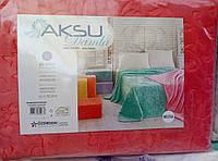 Покрывало плед Aksu 220*240 Евро размер.Красный.