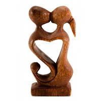 """Статуэтка """"влюбленные"""" дерево (10х5х2,5 см)"""