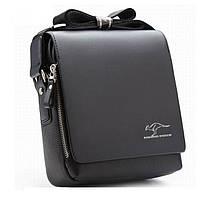 Мужская сумка через плечо Kangaroo Kingdom black