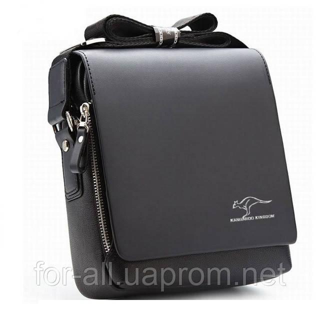 a0a380a0e913 Мужская сумка через плечо Kangaroo Kingdom black: продажа, цена в ...