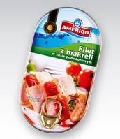 Филе скумбрии в томатном соку Amerigo, 170г (Польша)