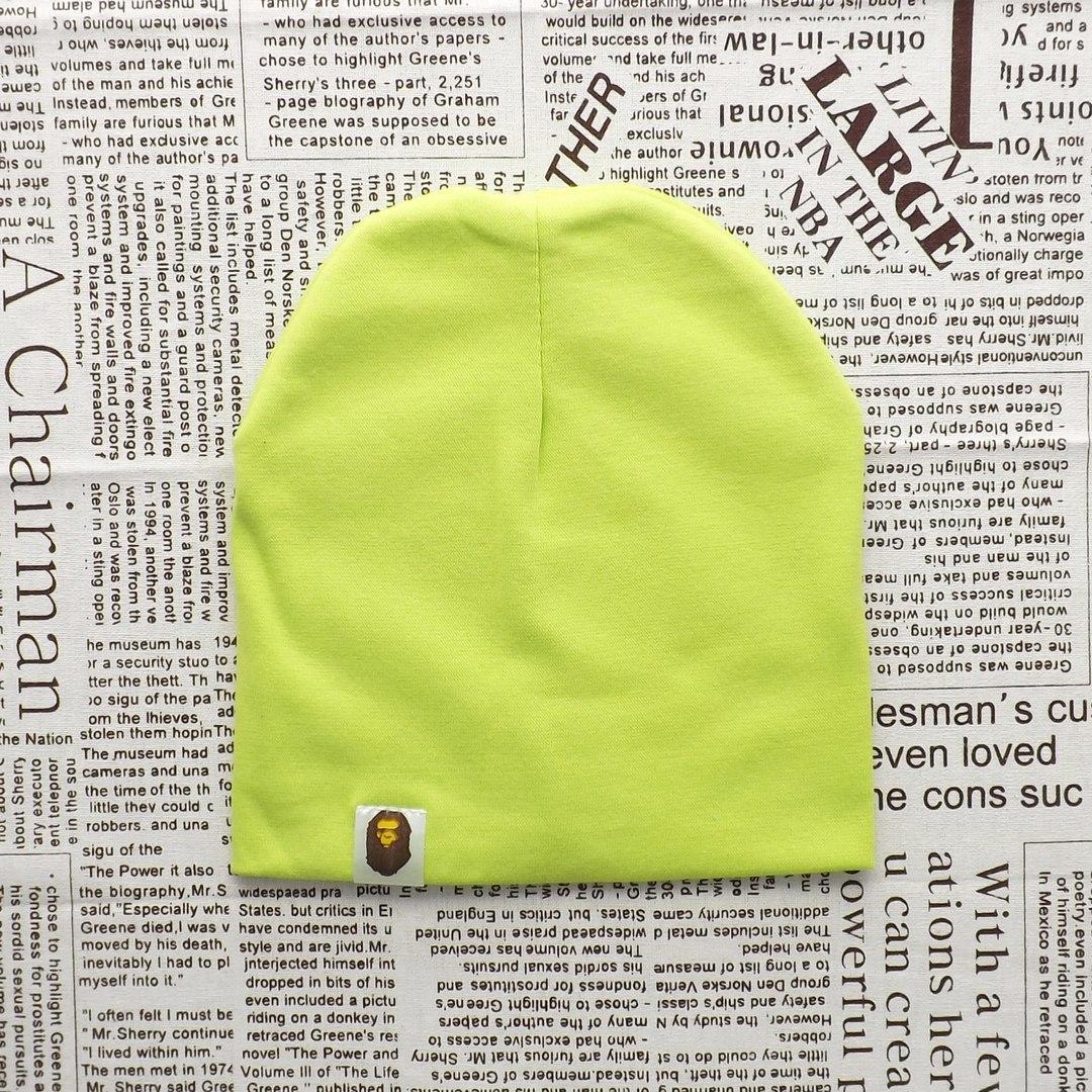 Варе Kids шапка однотонная демисезонная  Салатовый