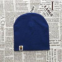 Варе Kids шапка однотонная демисезонная Темно-синяя