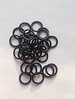Фурнитура 1 см. металл черная кольца