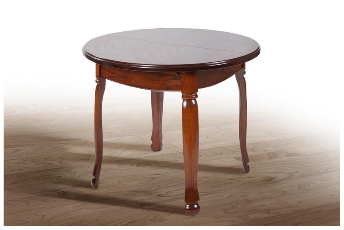 Деревянный раскладной стол Гаити круглый 4н Fusion Furniture
