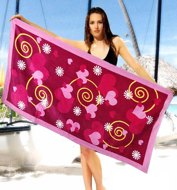 Стильное пляжное полотенце - №2313