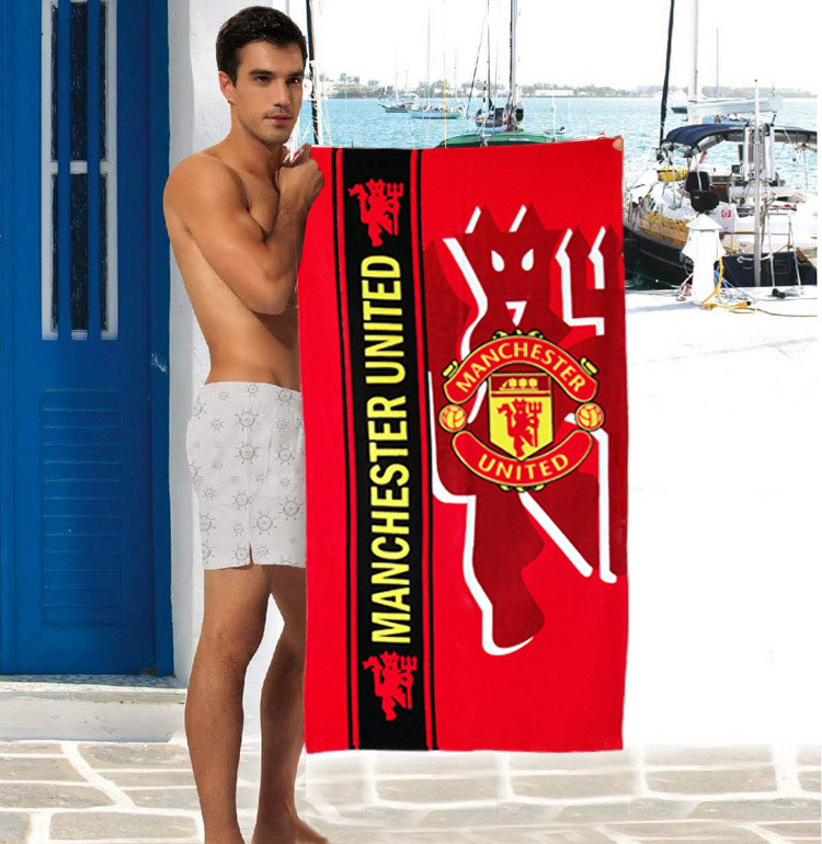 Мужское пляжное полотенце Manchester United - №2326