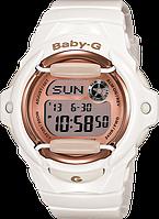 Женские часы Casio Baby-G BG169G-7B Касио противоударные японские кварцевые