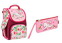 "Комплект школьный. Рюкзак ""Hello Kitty"" НK17-500S, Пенал, ТМ  KITE"