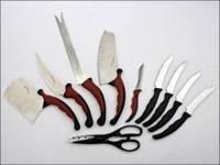 Профессиональный набор кухонных ножей Контр Про (Contour Pro Knives), фото 1