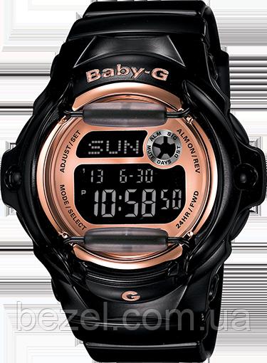Женские часы Casio BG169G-1 Baby G Касио противоударные японские кварцевые