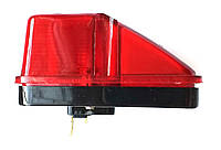Фонарь габаритный красный 24V