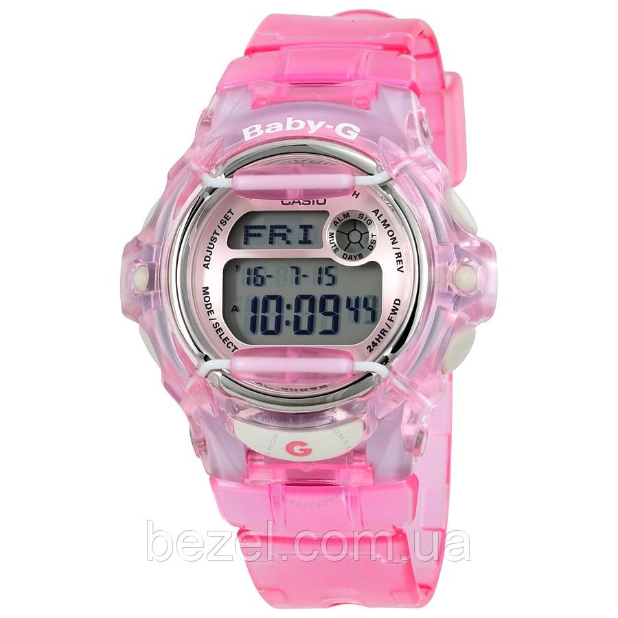 Женские часы Casio BG169R-4 Baby-G Касио противоударные японские кварцевые