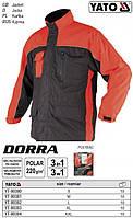 Куртка рабочая утепленная капюшен DORRA размер S YT-80380