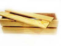 Заготовка деревянная «Короб для вина» №03 210х110 мм сосна 10,007 Украина