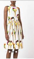 Платье женское короткое из шелка  P6339