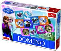 Настольная игра Trefl Домино Холодное сердце TFL-01210