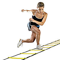 Координационная лестница (беговая дорожка) 3 м х 0.52 м (6 перекладин 4 мм)