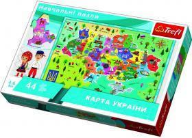 Пазл Trefl Карта Украины, 44 элементов TFL-15532