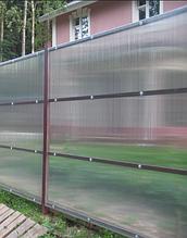 Поликарбонат прозрачный 16мм OSCAR Чехия