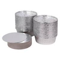 PRO Крышка картонная алюминиевая 100шт/уп