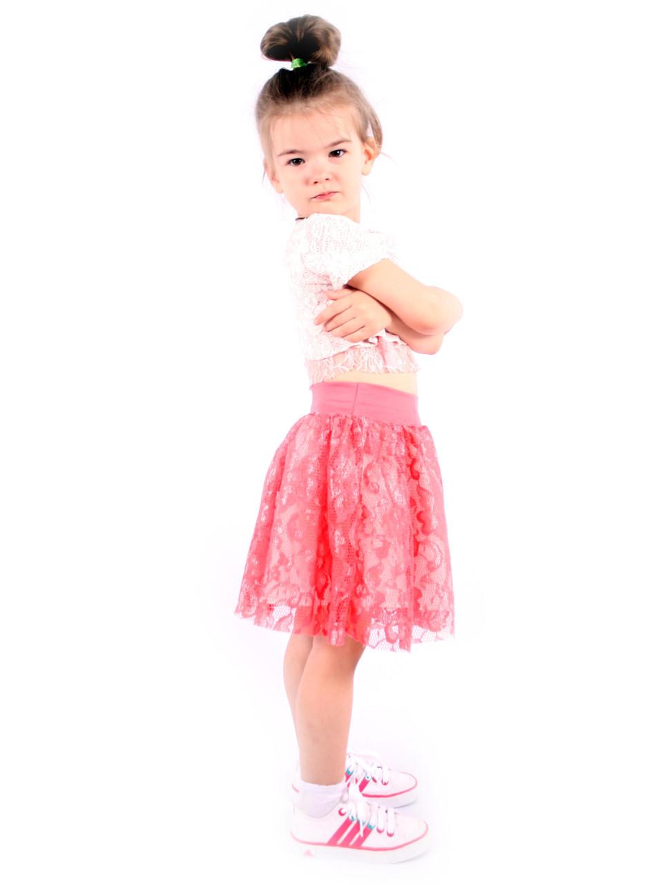Стильна спідниця для дівчаток Італія розмір 2-12