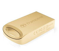 Флешка 16Gb Transcend 510 Gold Plating / 15/7Mbps / TS16GJF510G