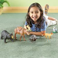 """Набор животных """"Лесные жители"""" от Learning Resources Jumbo Forest Animals"""