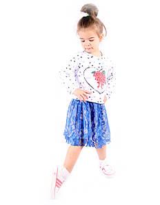 Стильная юбка для девочек Италия размер 2-12