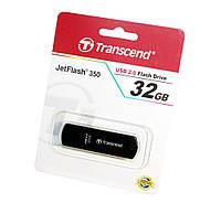 Флешка 32Gb Transcend 350 Black / 15/11Mbps / TS32GJF350