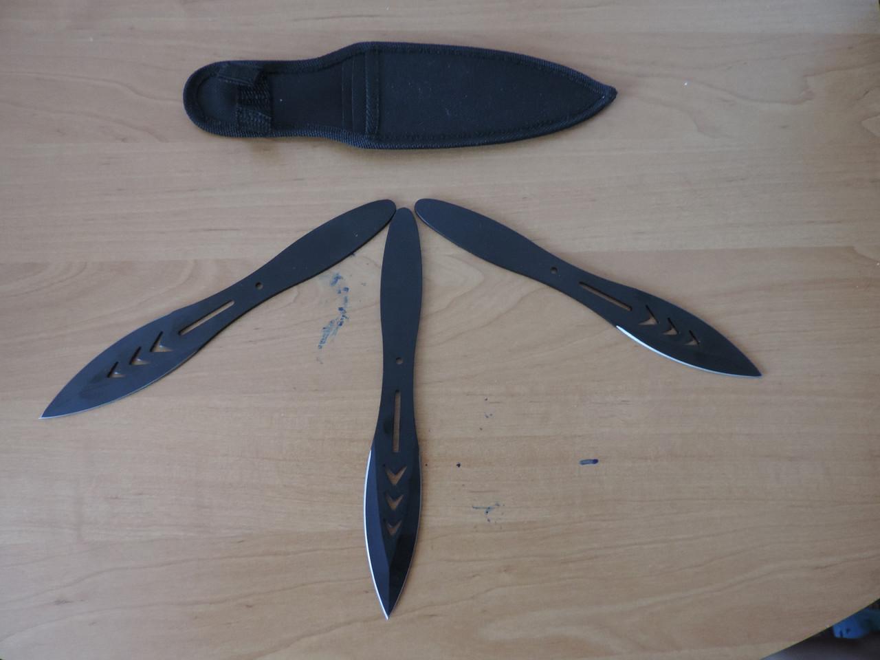 Ножи метательные (набор-3шт). Аэродинамика клинка. Высокое качество.