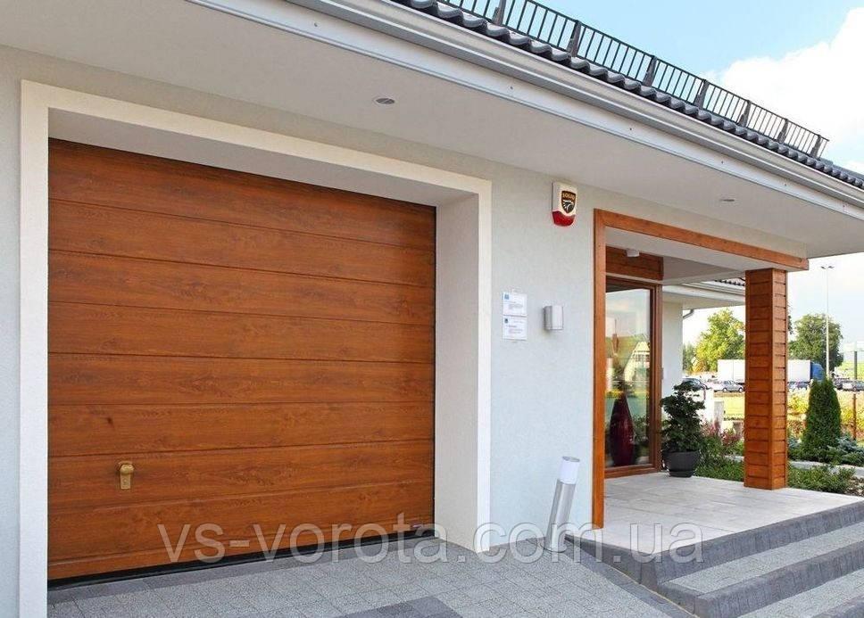 Ворота секционные гаражные WISNIOWSKI UNIPRO 2750Х2250