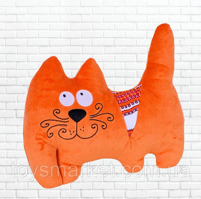 Мягкая игрушка Кот с орнаментом