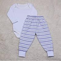 Летний костюм для малышей боди и штанишки, Sport baby