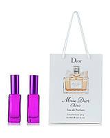 Парфюм 2 по 20 мл в подарочной упаковке Miss Dior Cherie Eau de Parfum для женщин