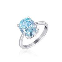 Серебряное кольцо с фианитом КК2ФТ/406 - 18,4