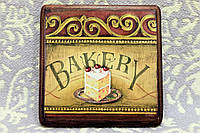 """Подарочная доска - подставка """"Тортик с вишенкой"""" (ручная работа), фото 1"""