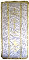 Покрывало ритуальное свеча золото